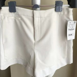 Brand New White Zara Shorts Nwot